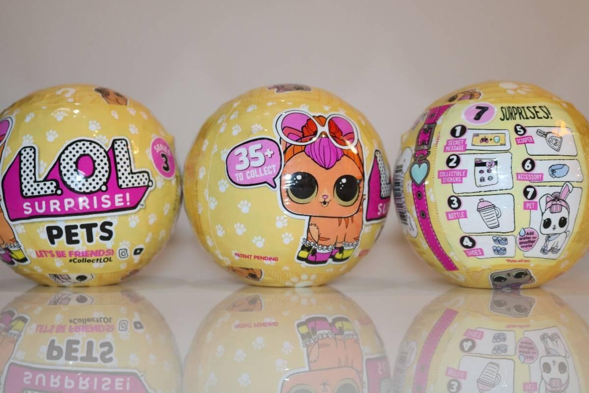 LOL Pet 7 Surpresas  - Candide 8905 - Noy Brinquedos