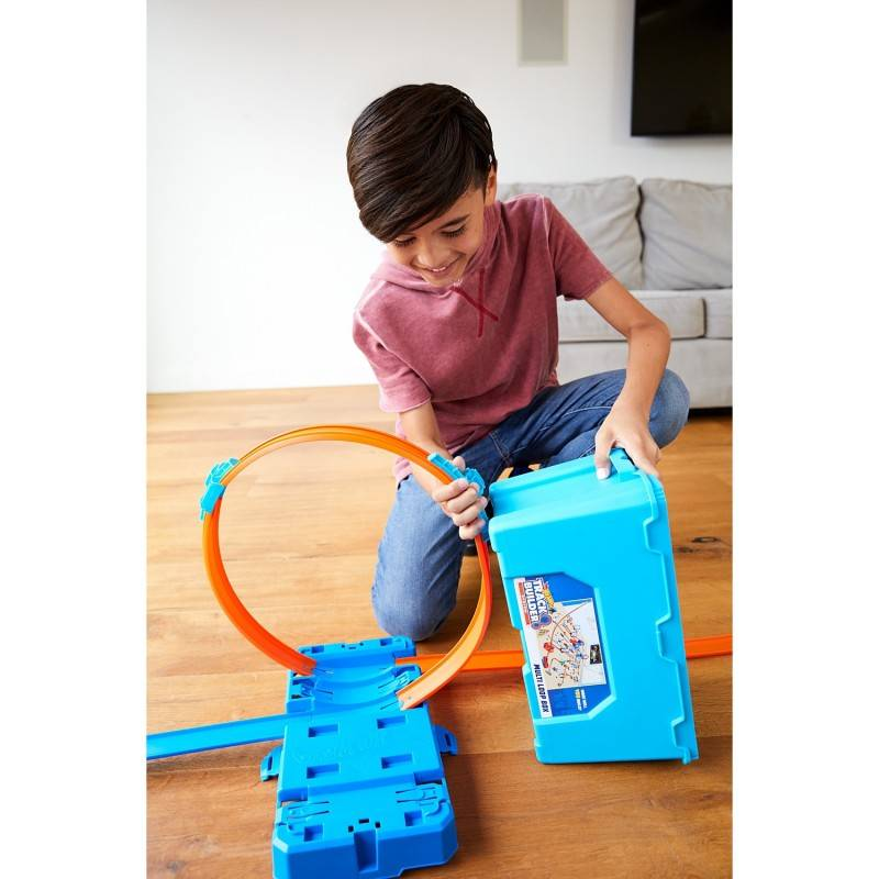Looping Kit Track Builder Hot Wheels - Mattel FLK90 - Noy Brinquedos