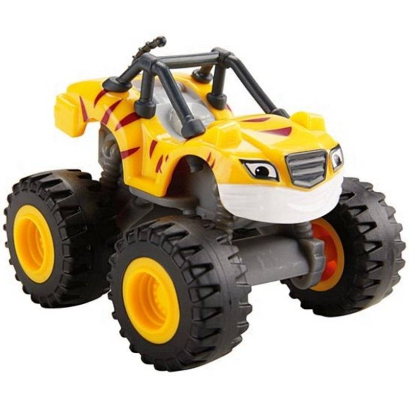Stripes Monster Machines Veículo Básico Fisher-Price - Mattel DKV87 - Noy Brinquedos