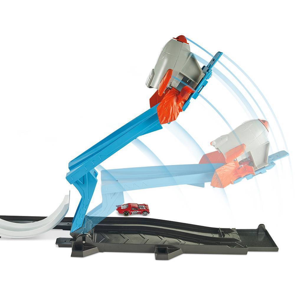 Desafio Lançamento de Foguete Hot Wheels - Mattel FLK60  - Noy Brinquedos