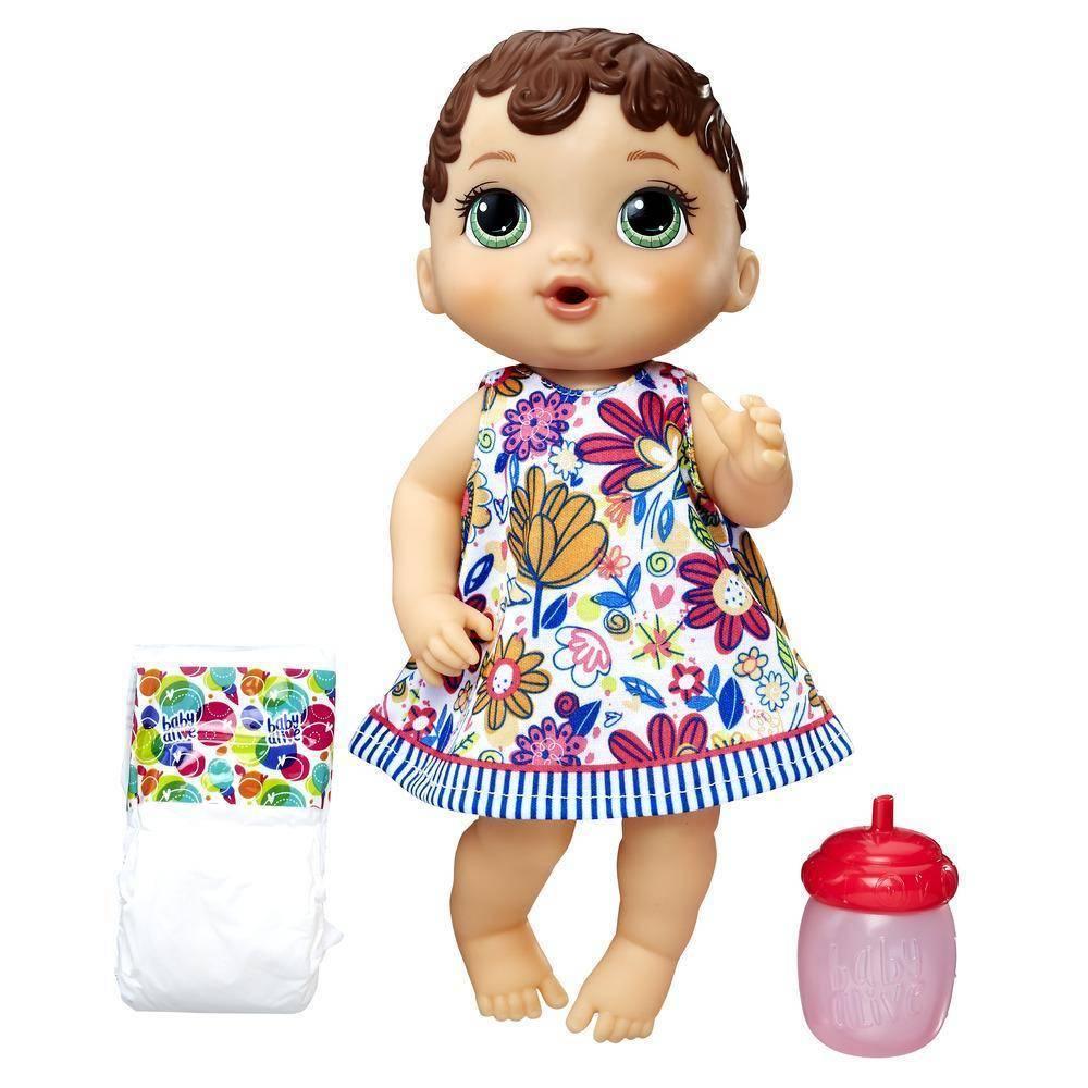 Morena Hora do Xixi Baby Alive - Hasbro E0499 - Noy Brinquedos