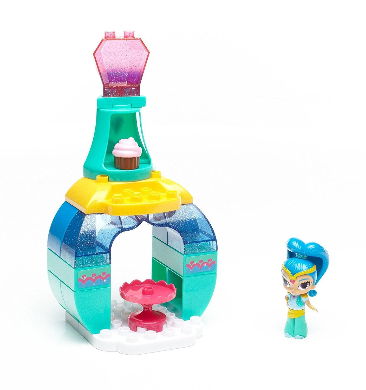 Shine Palácio Shimmer e Shine Mega Bloks - Mattel DXH13 - Noy Brinquedos
