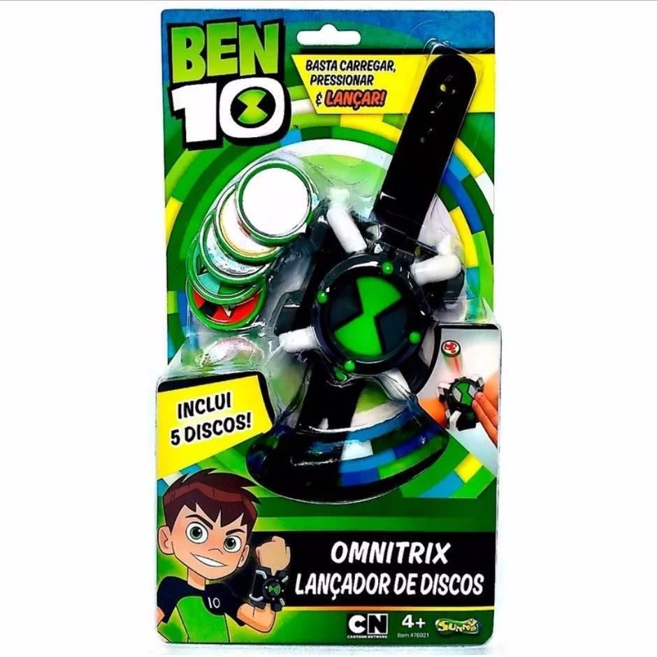 Omnitrix Lançador de Discos Ben 10 - Sunny 1759 - Noy Brinquedos