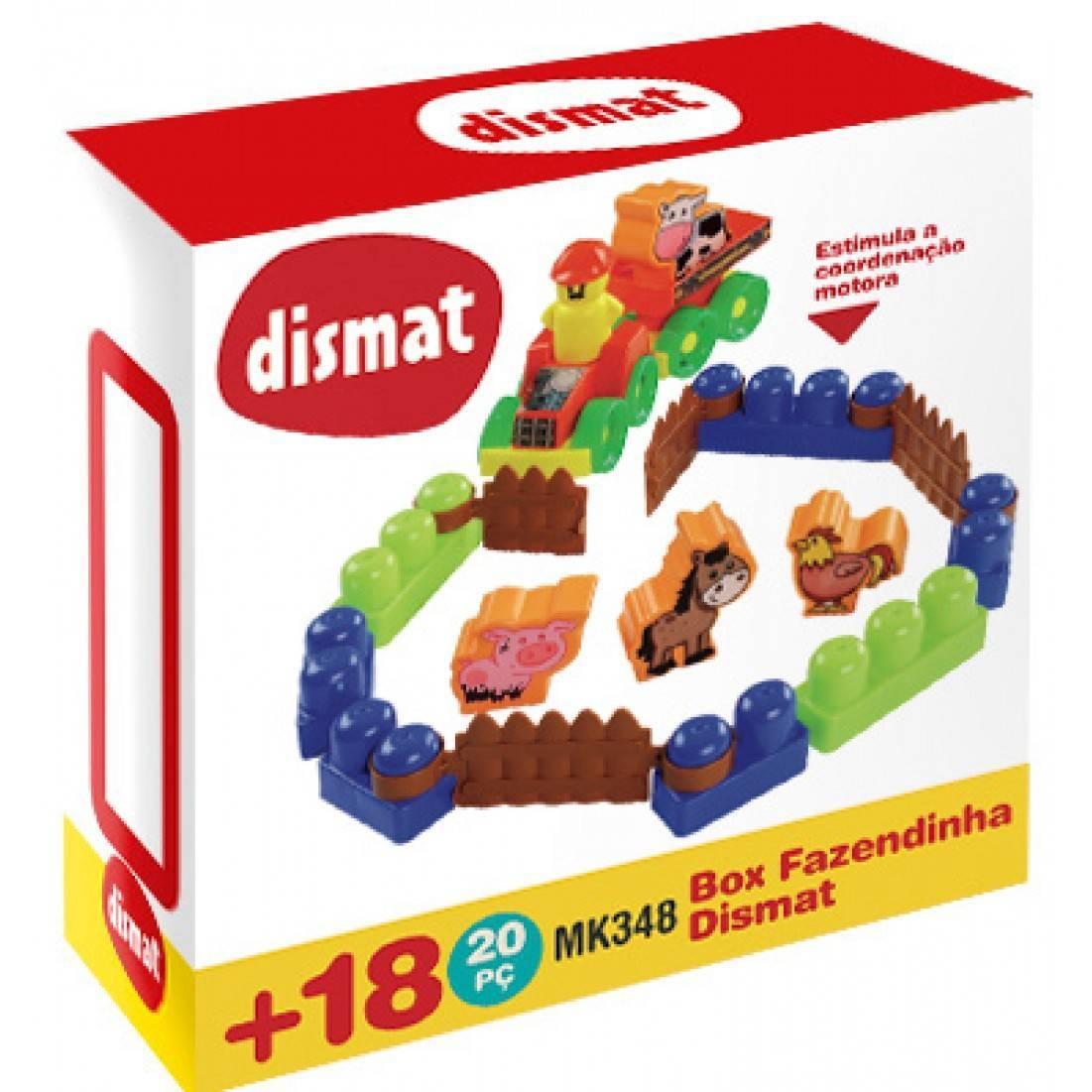 Box Fazendinha - Dismat MK348 - Noy Brinquedos