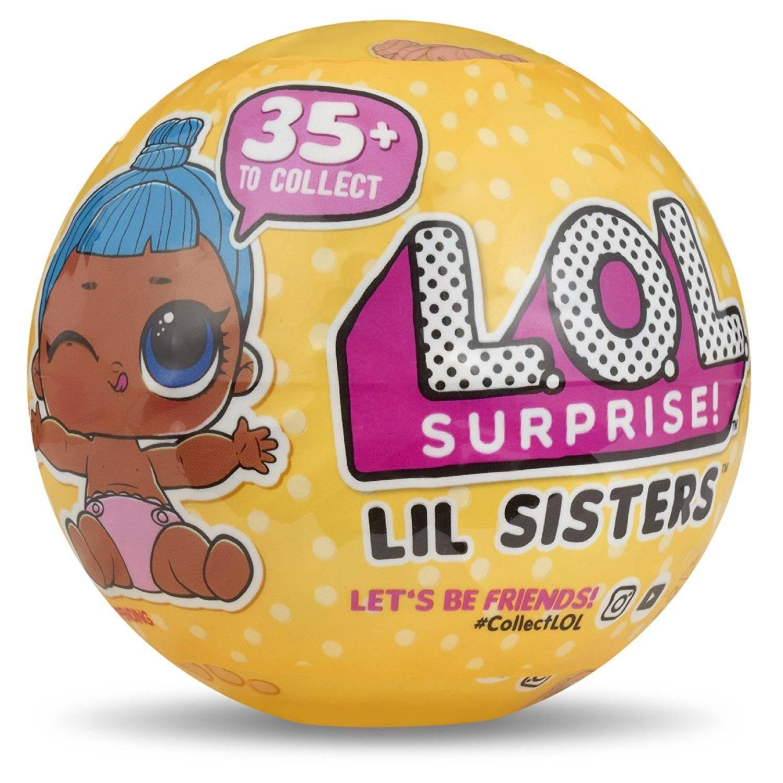 LOL Sister 5 Surpresas Serie 3  - Candide 8901 - Noy Brinquedos