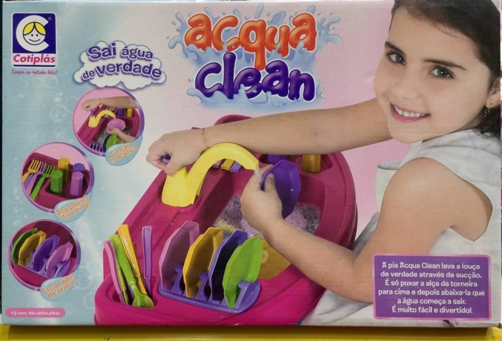 Pia Acqua Clean - Cotiplás 1587 - Noy Brinquedos