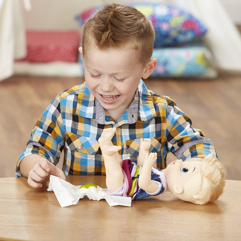 Loiro Papinha Divertida Baby Alive - Hasbro E0635 - Noy Brinquedos