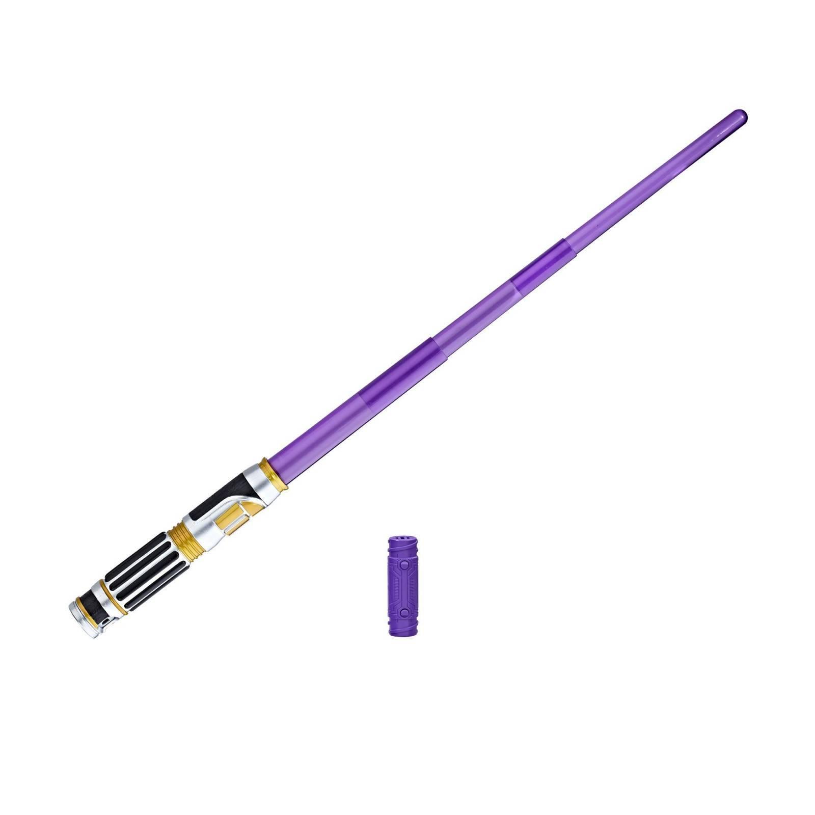 Sabre Eletrônico de Mace Windu Star Wars - Hasbro C1569 - Noy Brinquedos