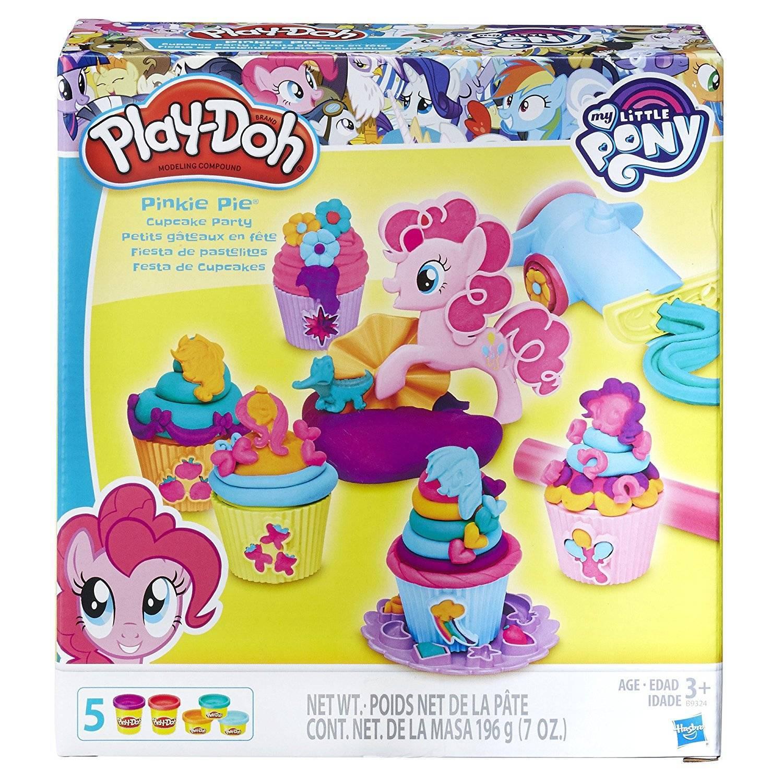 Pinkie Pie Festa Cupcake My Little Pony Play Doh - Hasbro B9324 - Noy Brinquedos