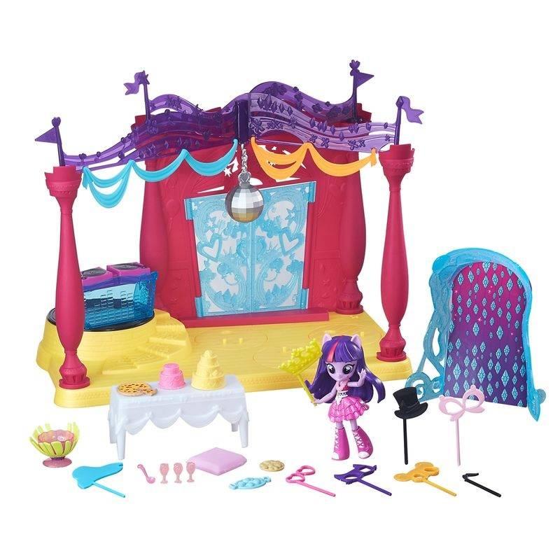 Festa em Canterlot High My Little Pony - Hasbro B6475 - Noy Brinquedos