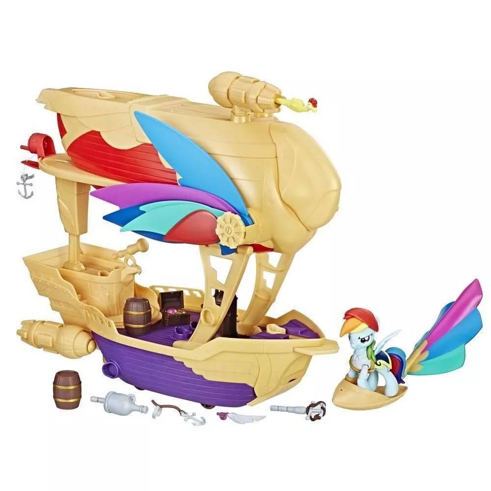 Navio Voador My Little Pony - Hasbro C1059 - Noy Brinquedos