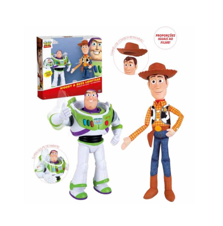 Kit Buzz Lightyear E Woody Toy Story - Toyng 35705 - Noy Brinquedos
