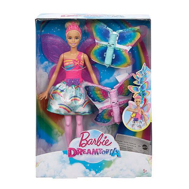 Fada Asas Voadoras Barbie - Mattel FRB08 - Noy Brinquedos
