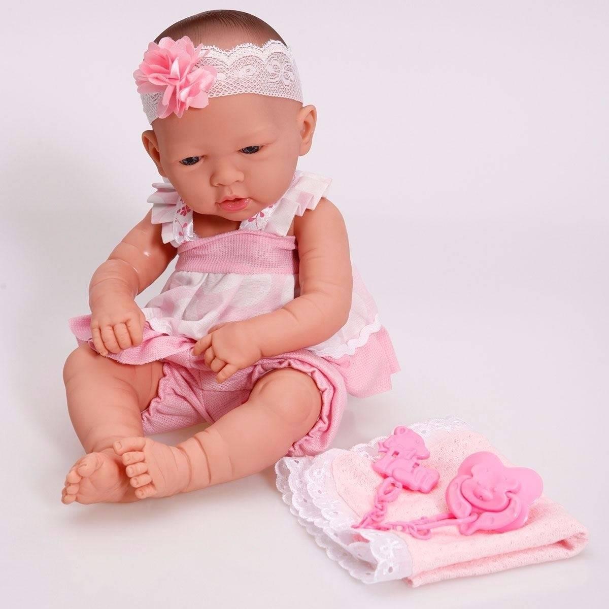 Boneca Tipo Bebê Reborn - Cotiplás 2032 - Noy Brinquedos