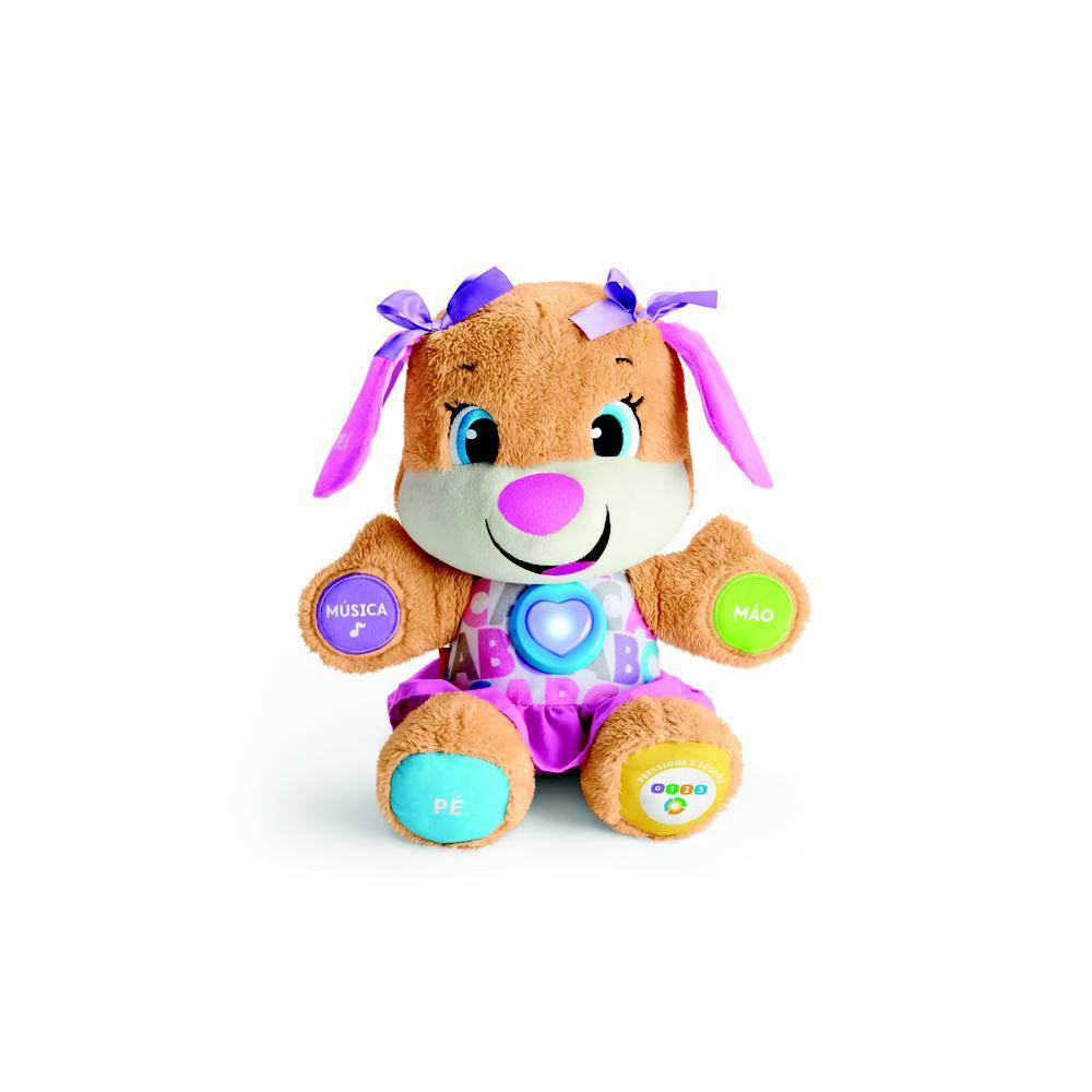 Irmã do Cachorrinho Smart Stages Fisher-Price - Mattel FVC81 - Noy Brinquedos