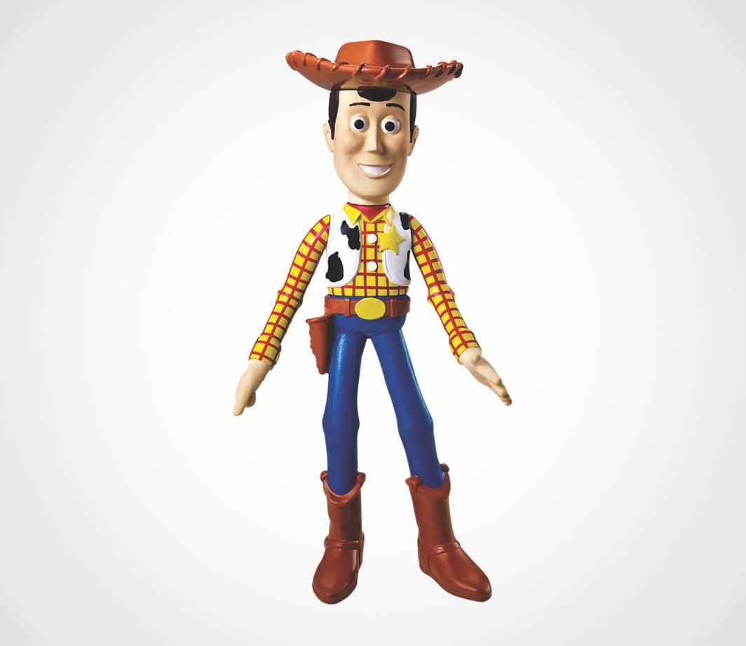 Woody de Vinil Toy Story - Líder 2588 - Noy Brinquedos
