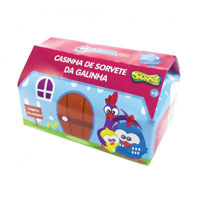 Casinha de Sorvete da Galinha Pintadinha - Sunny 1513 - Noy Brinquedos