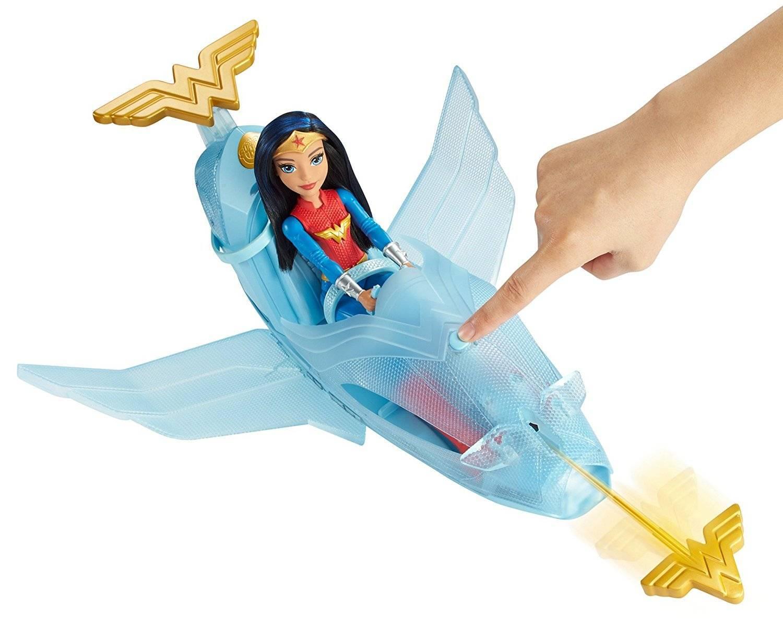 Jato Wonder Woman DC Super Hero Girls - Mattel DYN05 - Noy Brinquedos
