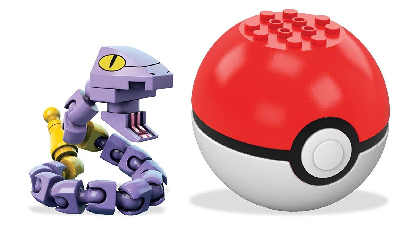 Ekans Pokeball Mega Construx Pokémon - Mattel FFJ93 - Noy Brinquedos