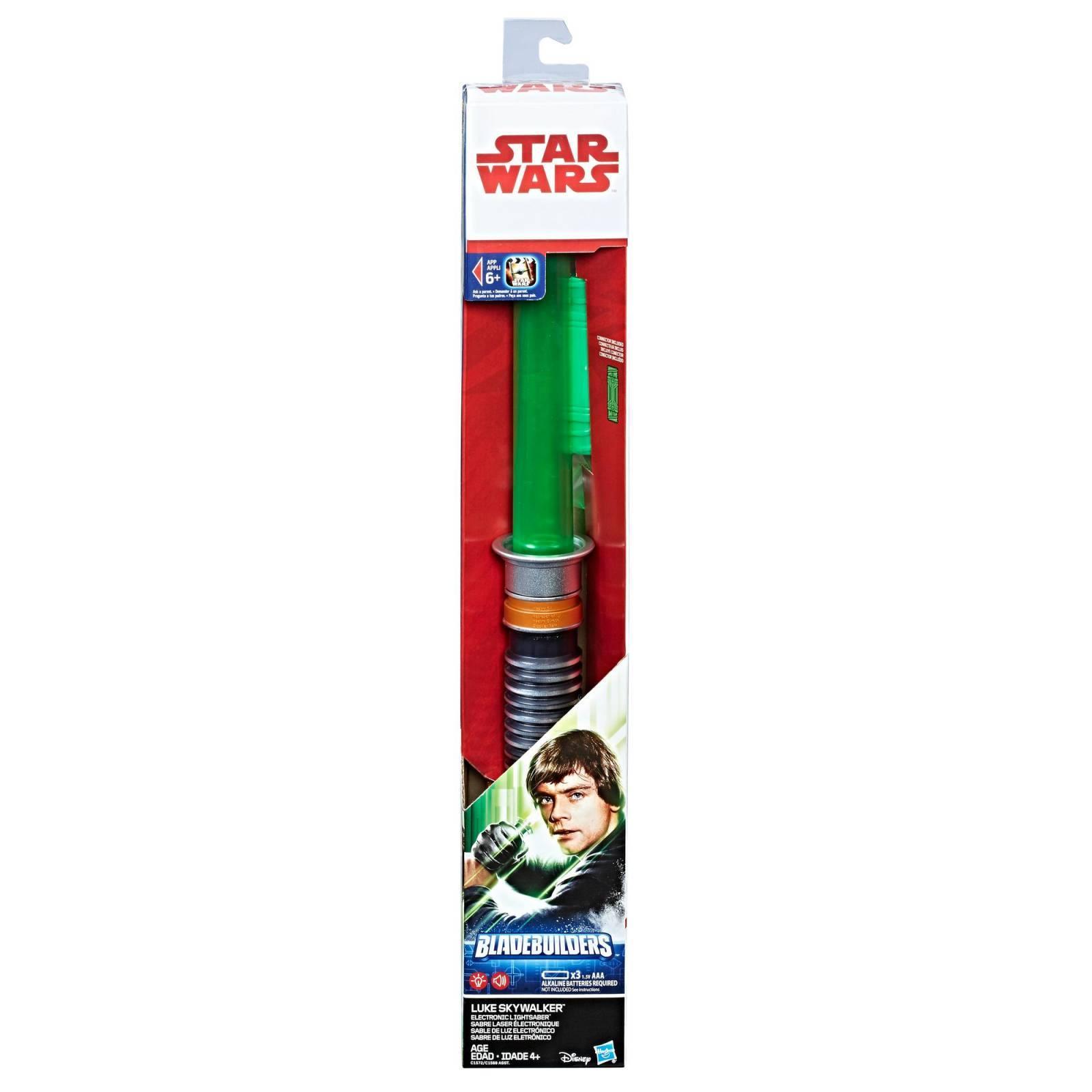 Luke Skywalker Sabre Eletrônico Star Wars - Hasbro C1572 - Noy Brinquedos