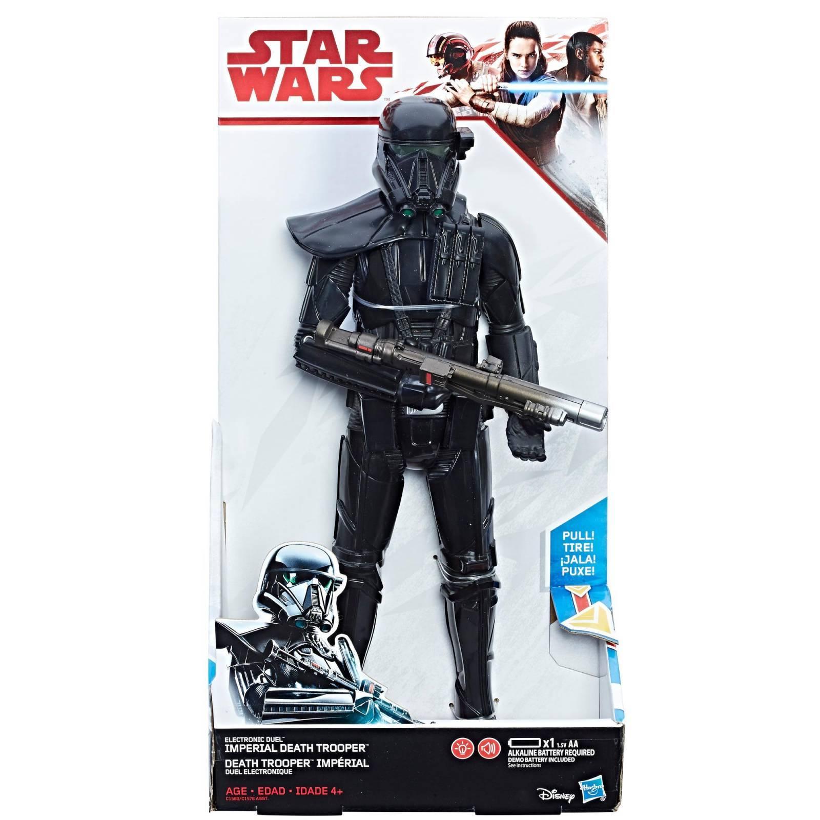 Death Trooper Imperial 30cm Últimos JEDI Star Wars Disney - Hasbro C1580 - Noy Brinquedos