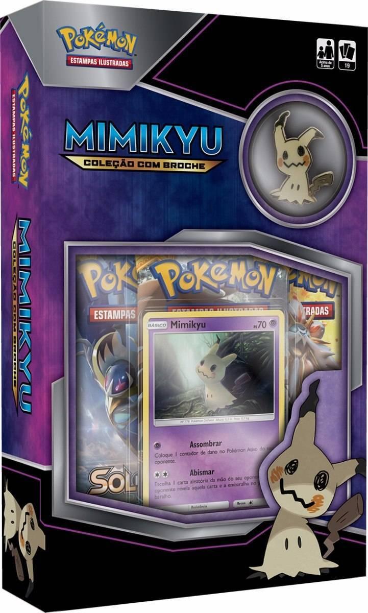 Mimikyu Mini Box Pokémon - Copag 97485 - Noy Brinquedos