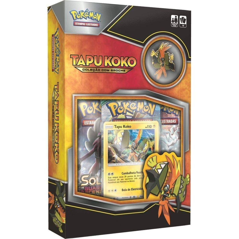 Tapu koko Mini Box Pokémon - Copag 97487 - Noy Brinquedos