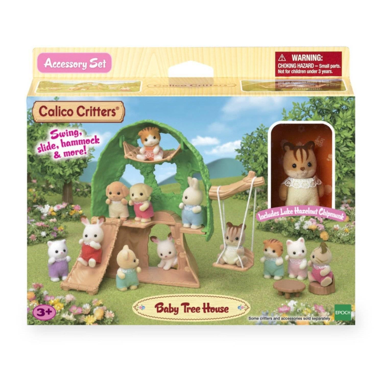 Casa na Árvore do Bebê Sylvanian Families - Epoch Magia 5318 - Noy Brinquedos