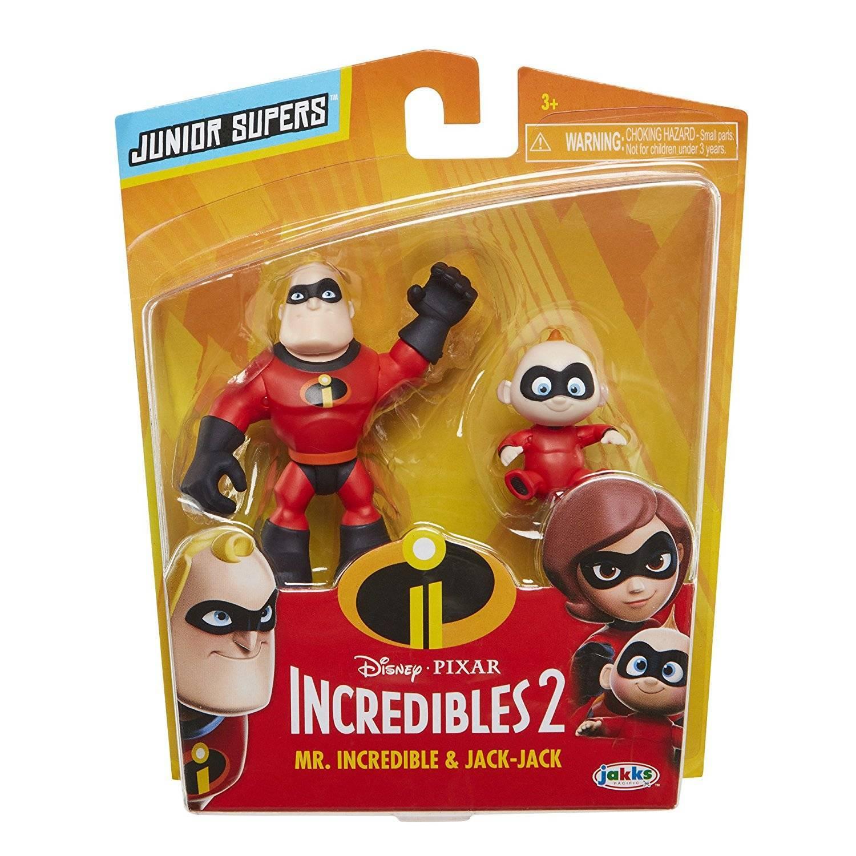 Sr. Incrível e Zezé Pack com 2 Os Incríveis 2 - Sunny 1884 - Noy Brinquedos