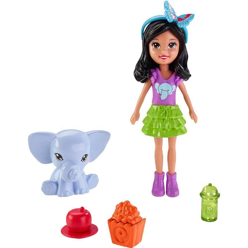 Crissy Festa das Borboletas Polly Pocket - Mattel DNB63  - Noy Brinquedos