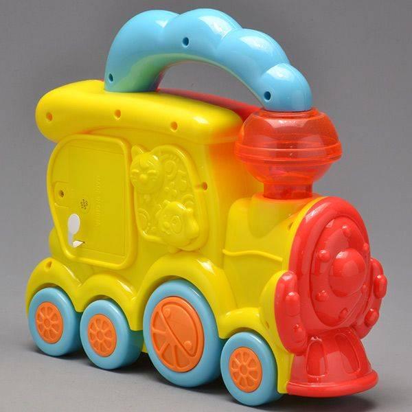 Trem Fazendinha com Som - Zoop Toys ZP00005 - Noy Brinquedos