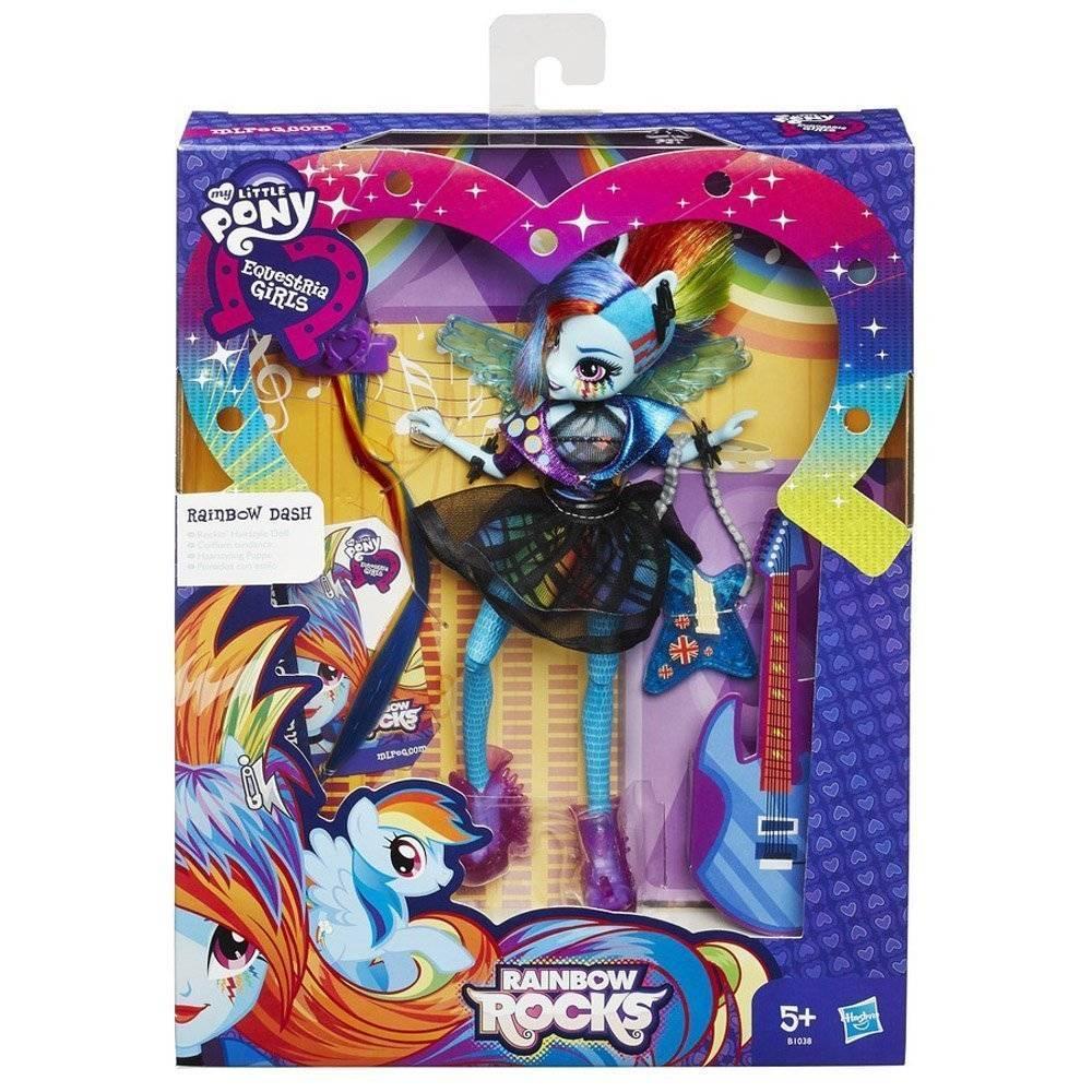 Rainbow Dash Cabelos Estilosos My Little Pony - Hasbro B1038 - Noy Brinquedos