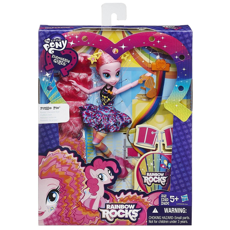 Pinkie Pie Cabelos Estilosos My Little Pony - Hasbro B1997  - Noy Brinquedos