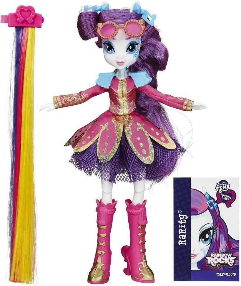 Rarity Cabelos Estilosos My Little Pony - Hasbro B1998 - Noy Brinquedos