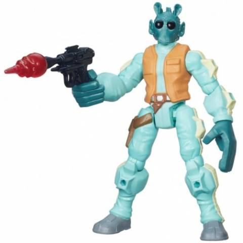 Greedo Hero Mashers Star Wars Disney - Hasbro B3770 - Noy Brinquedos