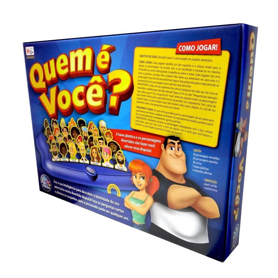 Quem é Você - Pais e Filhos 7281 - Noy Brinquedos