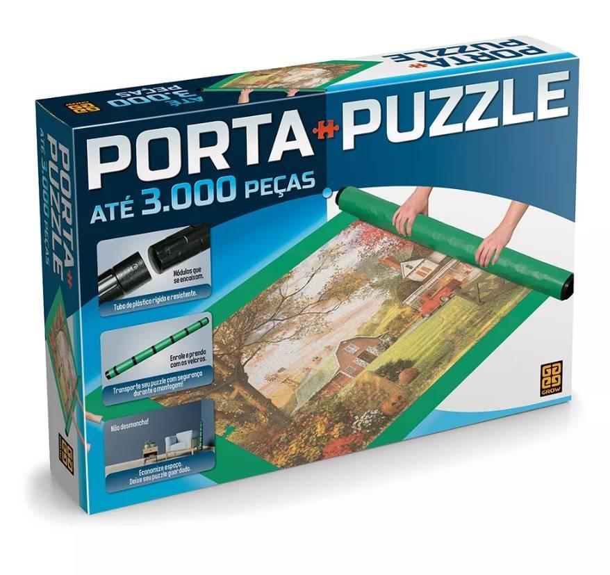 Porta Puzzle até 3000 Peças Quebra Cabeça - Grow 3604 - Noy Brinquedos