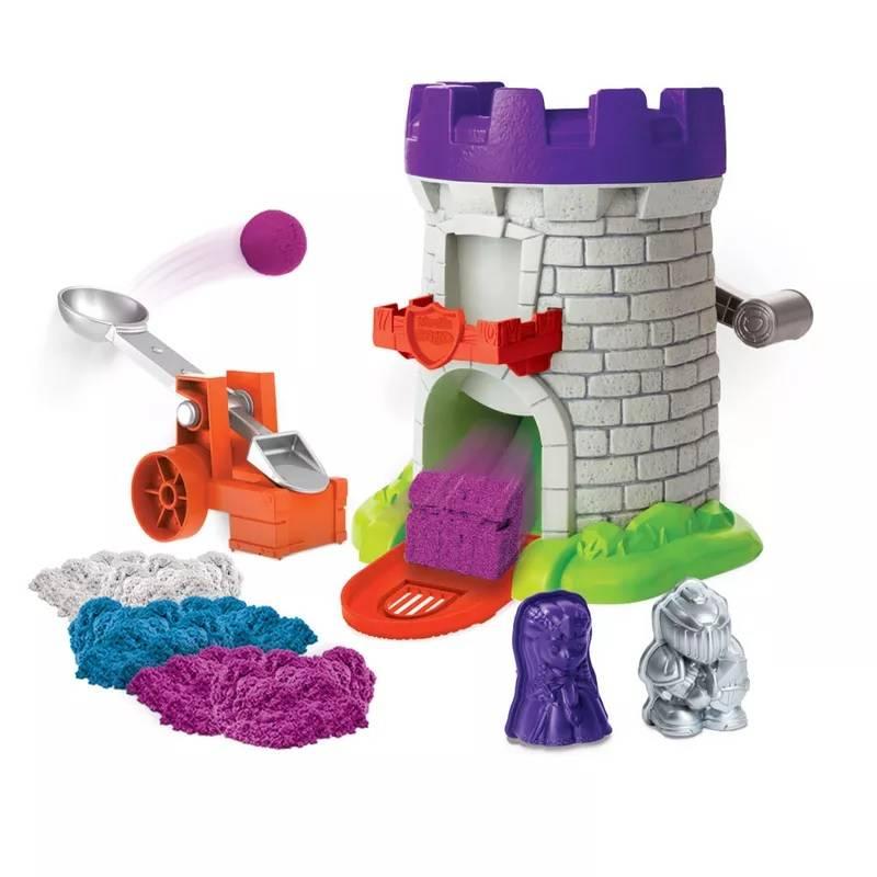 Torre Mágica Kinetic Sand - Sunny 1807 - Noy Brinquedos