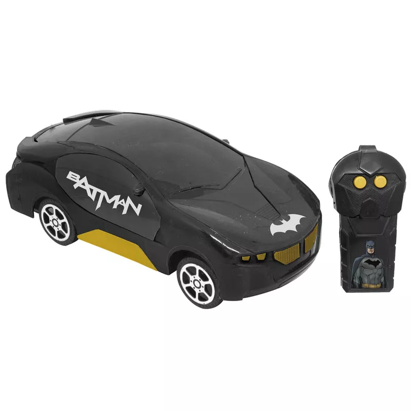 Batman Corrida Sombria Carro RC - Candide 9009 - Noy Brinquedos