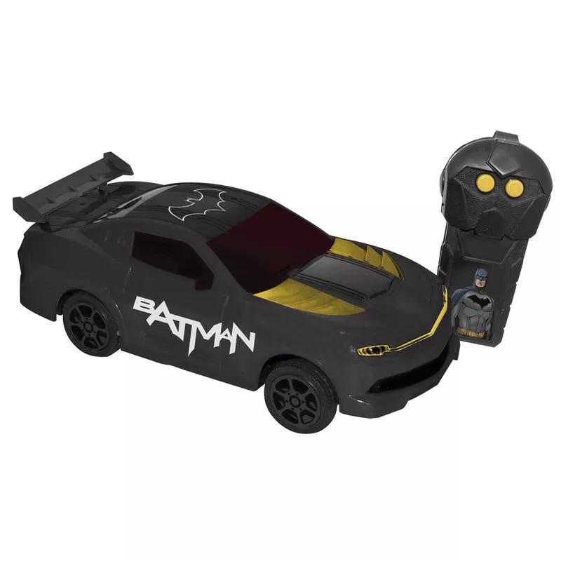 Batman Dourado Corrida Sombria Carro RC - Candide 9009 - Noy Brinquedos