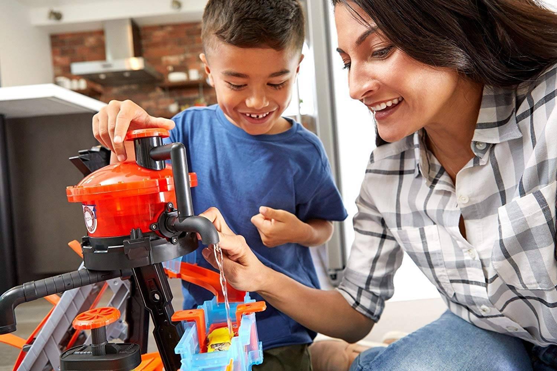 Ataque do Jacaré Lava Rápido Hot Wheels City - Mattel FTB67 - Noy Brinquedos