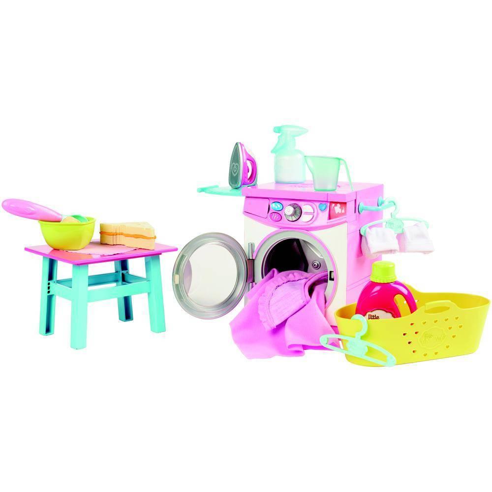 Hora de Comer e Lavar Little Mommy - Mattel FLC04 - Noy Brinquedos