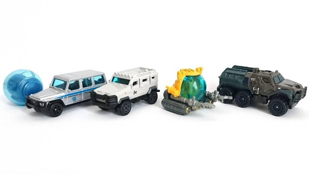 Pack com 5 Matchbox Jurassic World - Mattel FMY24 - Noy Brinquedos