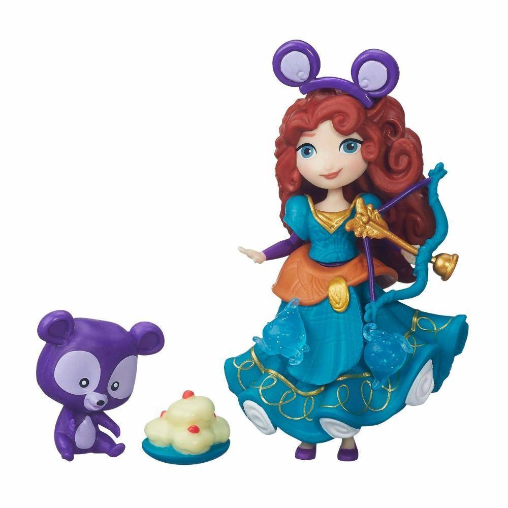 Merida Mini Boneca e Amigo Princesas Disney - Hasbro B5332 - Noy Brinquedos