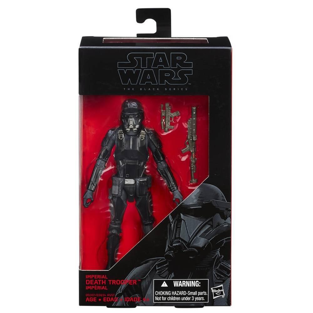 Death Trooper Black Series Star Wars Disney - Hasbro B9397 - Noy Brinquedos