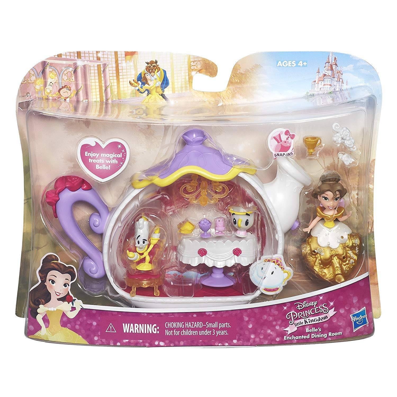 Sala de Jantar Bela Princesas Disney - Hasbro B5346 - Noy Brinquedos