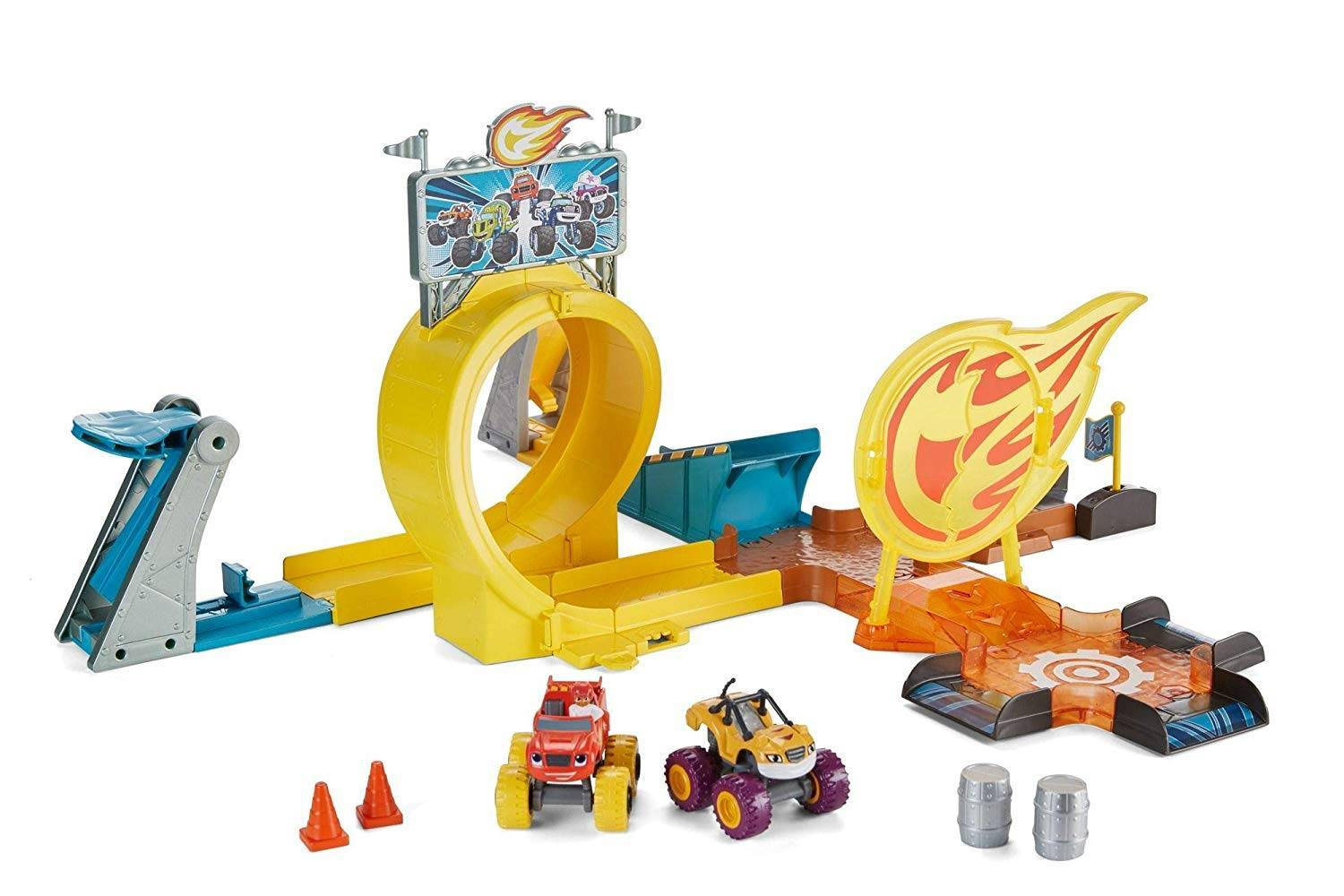 Axel City Playset Fisher-Price - Mattel GFC08 - Noy Brinquedos