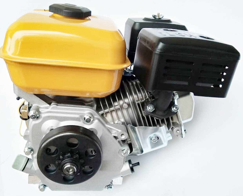 Motor a gasolina 4 tempos 5,5hp com embreagem centrífuga para bike chopper triciclo trike