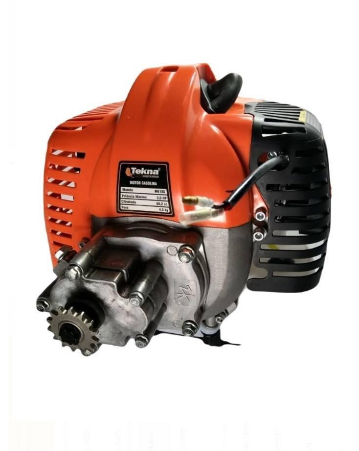 Motor a gasolina 60,2cc 2 tempos com embreagem e transmissão