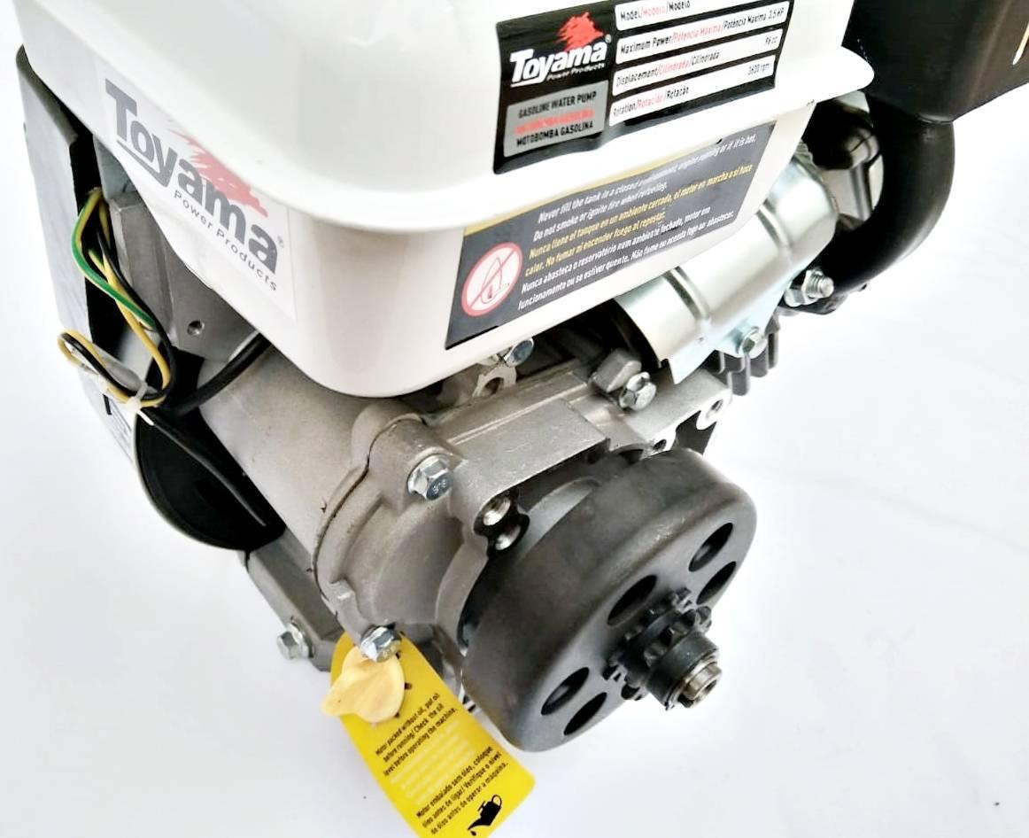 Motor Estacionario gasolina 3,5hp 96cc 4 tempos com embreagem centrífuga
